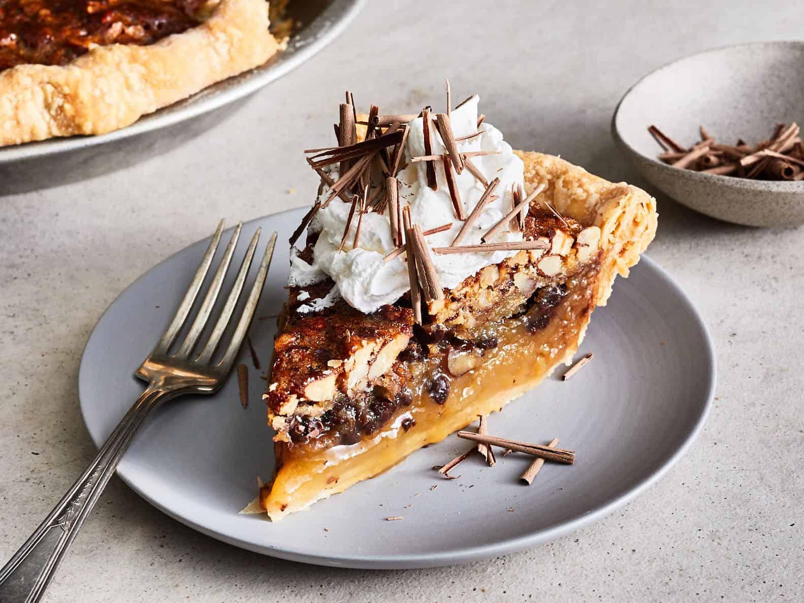 Classic Kentucky Bourbon Pie - Thanksgiving Desserts