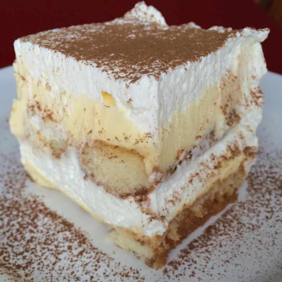 Easy No Bake Tiramisu - Christmas Desserts